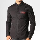 /achat-chemises-manches-longues/hugo-by-hugo-boss-chemise-manches-longues-reverse-logo-ero-3-50416139-noir-rouge-186394.html