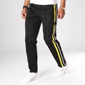 /achat-pantalons-joggings/hugo-boss-pantalon-jogging-a-bandes-dindore-50414154-noir-186395.html