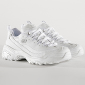 /achat-baskets-basses/skechers-baskets-femme-dlites-11931-fresh-start-white-silver-186502.html
