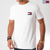 /achat-t-shirts/tommy-jeans-tee-shirt-badge-6595-blanc-186535.html