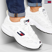 /achat-baskets-basses/tommy-hilfiger-baskets-tommy-jeans-retro-sneaker-0344-100-white-186546.html