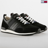 /achat-baskets-basses/tommy-hilfiger-baskets-iconic-material-mix-runner-2273-990-black-186548.html