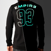 /achat-sweats-col-rond-crewneck/93-empire-sweat-crewneck-glow-in-the-dark-dossard-noir-186574.html