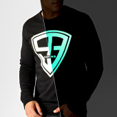 /achat-sweats-col-rond-crewneck/93-empire-sweat-crewneck-glow-in-the-dark-noir-186575.html