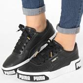 /achat-baskets-basses/puma-baskets-femme-cali-bold-370811-noir-blanc-dore-186649.html