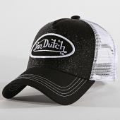 /achat-trucker/von-dutch-casquette-trucker-flak-noir-blanc-186588.html