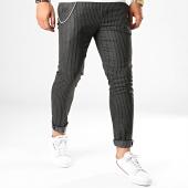 /achat-pantalons-carreaux/ikao-pantalon-f576-noir-186677.html