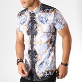 /achat-chemises-manches-courtes/ikao-chemise-manches-courtes-f568-bleu-ciel-bleu-marine-dore-186708.html