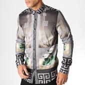 /achat-chemises-manches-longues/ikao-chemise-manches-longues-f553-gris-noir-vert-186718.html