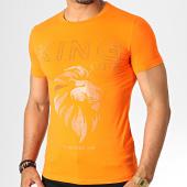 /achat-t-shirts/kingoff-tee-shirt-strass-a063-orange-dore-argente-186775.html