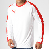 /achat-t-shirts-manches-longues/puma-tee-shirt-manches-longues-liga-jersey-703419-blanc-rouge-186703.html