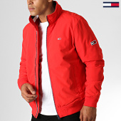 /achat-vestes/tommy-jeans-veste-zippee-essential-padded-6599-rouge-186733.html