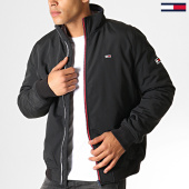 /achat-vestes/tommy-hilfiger-jeans-veste-zippee-essential-padded-6599-noir-186734.html