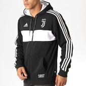 /achat-vestes/adidas-sweat-zippe-capuche-a-bandes-juventus-dx9724-noir-blanc-186897.html