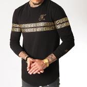 /achat-t-shirts-manches-longues/final-club-tee-shirt-manches-longues-oversize-renaissance-avec-broderie-or-281-noir-186809.html