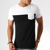 /achat-t-shirts-poche/lbo-tee-shirt-poche-749-noir-blanc-186804.html