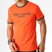 /achat-t-shirts/teddy-smith-tee-shirt-ticlass-3-orange-gris-fonce-186914.html