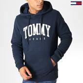 /achat-sweats-capuche/tommy-hilfiger-jeans-sweat-capuche-essential-6590-bleu-marine-blanc-186832.html