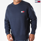 /achat-sweats-col-rond-crewneck/tommy-jeans-sweat-crewneck-badge-6592-bleu-marine-186833.html
