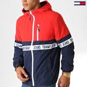 /achat-vestes/tommy-jeans-veste-zippee-capuche-colorblock-7233-bleu-marine-rouge-blanc-186835.html