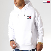 /achat-sweats-capuche/tommy-hilfiger-jeans-sweat-capuche-badge-6593-blanc-186841.html