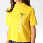 /achat-t-shirts/reebok-tee-shirt-femme-crop-classics-vector-eb4246-jaune-186996.html