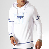 /achat-sweats-capuche/charo-sweat-capuche-square-wy4791-blanc-bleu-187045.html