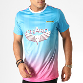 /achat-t-shirts/charo-tee-shirt-a-bandes-avec-degrade-vice-city-wy4783-bleu-rose-blanc-187079.html
