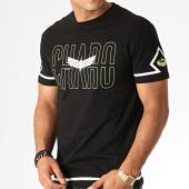 /achat-t-shirts/charo-tee-shirt-square-wy4767-noir-blanc-vert-clair-187082.html