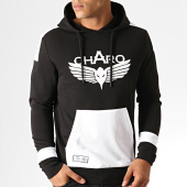 /achat-sweats-capuche/charo-sweat-capuche-unlimited-wy4790-noir-blanc-187096.html