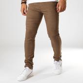 /achat-pantalons-carreaux/classic-series-pantalon-carreaux-m-3158-marron-noir-187004.html