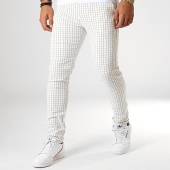 /achat-pantalons-carreaux/classic-series-pantalon-carreaux-m-3165-blanc-187011.html