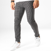 /achat-pantalons-carreaux/classic-series-pantalon-carreaux-m-3153-noir-blanc-187026.html