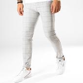 /achat-pantalons-carreaux/classic-series-pantalon-carreaux-m-3151-gris-chine-noir-187027.html