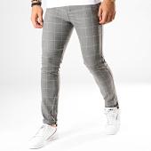 /achat-pantalons-carreaux/classic-series-pantalon-carreaux-m-3150-gris-chine-blanc-187029.html