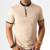 /achat-polos-manches-courtes/classic-series-polo-manches-courtes-545-beige-noir-blanc-187124.html