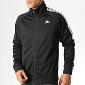 /achat-vestes/kappa-veste-zippee-a-bandes-anniston-3502050-noir-blanc-187083.html
