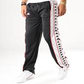 /achat-pantalons-joggings/kappa-pantalon-jogging-a-bandes-big-bay-350462l-noir-blanc-rouge-187086.html