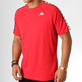 /achat-t-shirts/kappa-tee-shirt-a-bandes-coen-3600440-rouge-blanc-noir-187091.html