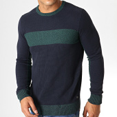 /achat-pulls/tom-tailor-pull-structured-mouline-2179-bleu-marine-vert-186924.html