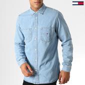 /achat-chemises-manches-longues/tommy-hilfiger-jeans-chemise-manches-longues-denim-pocket-5465-bleu-clair-186925.html
