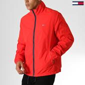 /achat-vestes/tommy-jeans-veste-zippee-novelty-6488-rouge-186933.html