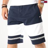 /achat-shorts-jogging/tommy-jeans-short-jogging-tape-6516-bleu-marine-blanc-186943.html