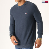 /achat-pulls/tommy-hilfiger-jeans-pull-washed-6534-bleu-marine-186948.html