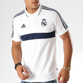 /achat-polos-manches-courtes/adidas-polo-manches-courtes-a-bandes-real-dx8707-blanc-bleu-marine-187138.html