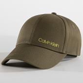 /achat-casquettes-de-baseball/calvin-klein-casquette-side-logo-5020-vert-kaki-187244.html