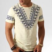 /achat-t-shirts/classic-series-tee-shirt-tv-351-jaune-chine-bleu-marine-187139.html
