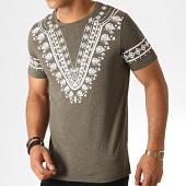 /achat-t-shirts/classic-series-tee-shirt-tv-351-vert-kaki-chine-blanc-187141.html