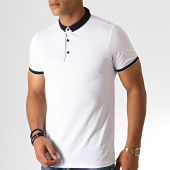 /achat-polos-manches-courtes/classic-series-polo-manches-courtes-545-blanc-bleu-marine-fonce-187193.html