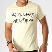 /achat-t-shirts/classic-series-tee-shirt-tc-338-jaune-chine-noir-187222.html